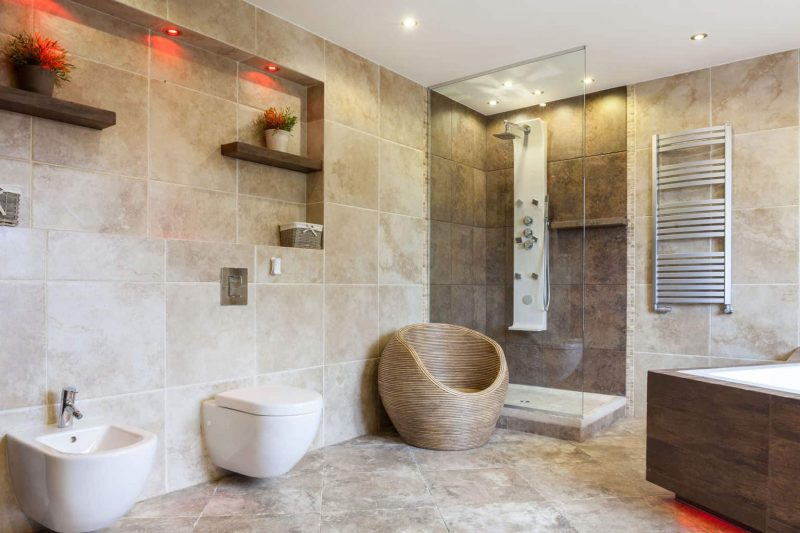all natural bathroom shower tile ideas