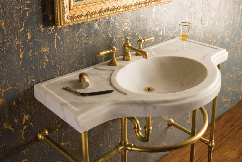 classic and lavish bathroom vanities single sink