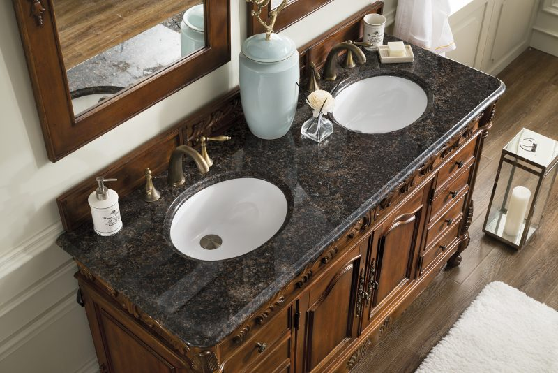 marbel top bathroom vanities double sink