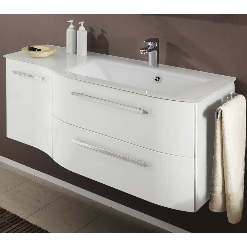 white bathroom vanities single sink