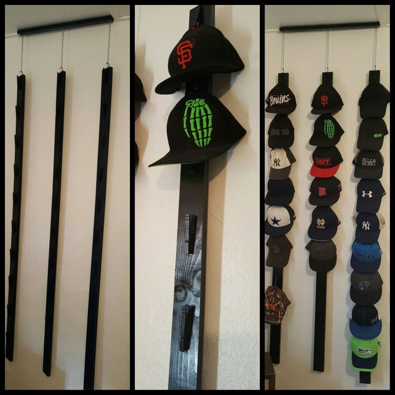 inline hat rack ideas
