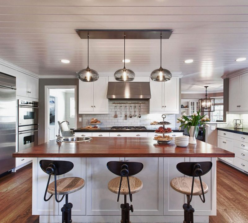 modern and sophisticated kitchen lighting ideas