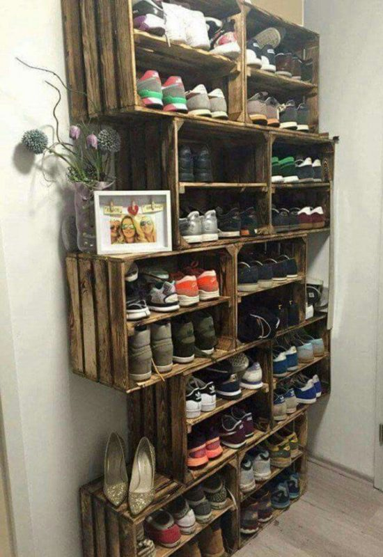 DIY Shoe Rack Ideas