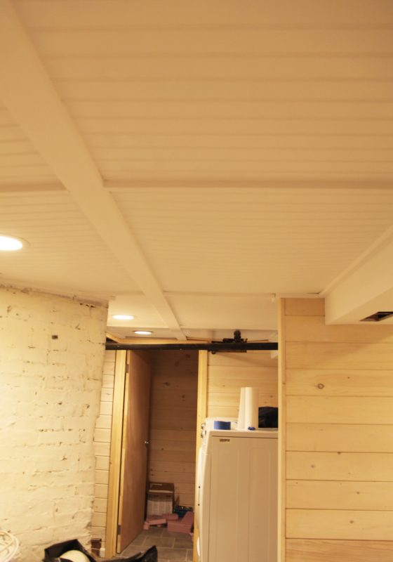 neat basement ceiling ideas