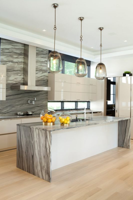 all grey kitchen lighting ideas