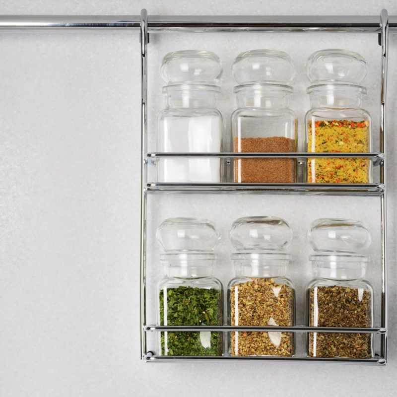 spice rack ideas to avoid clutter