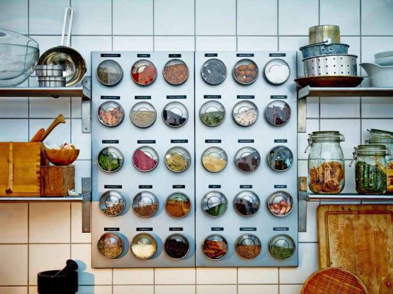 big spice rack ideas