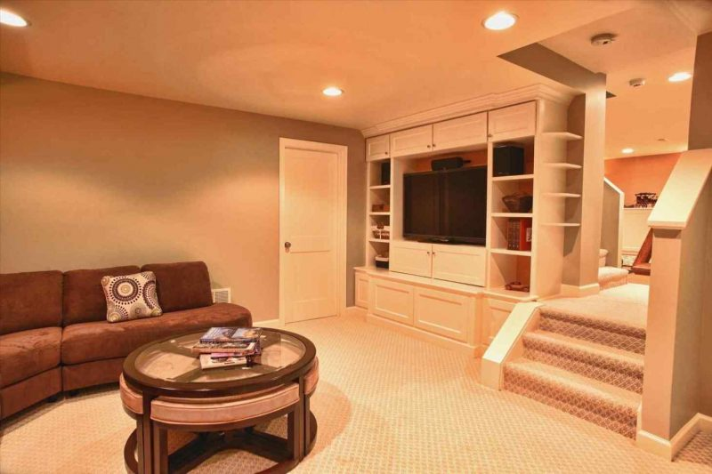 ideal basement ceiling ideas for wide space