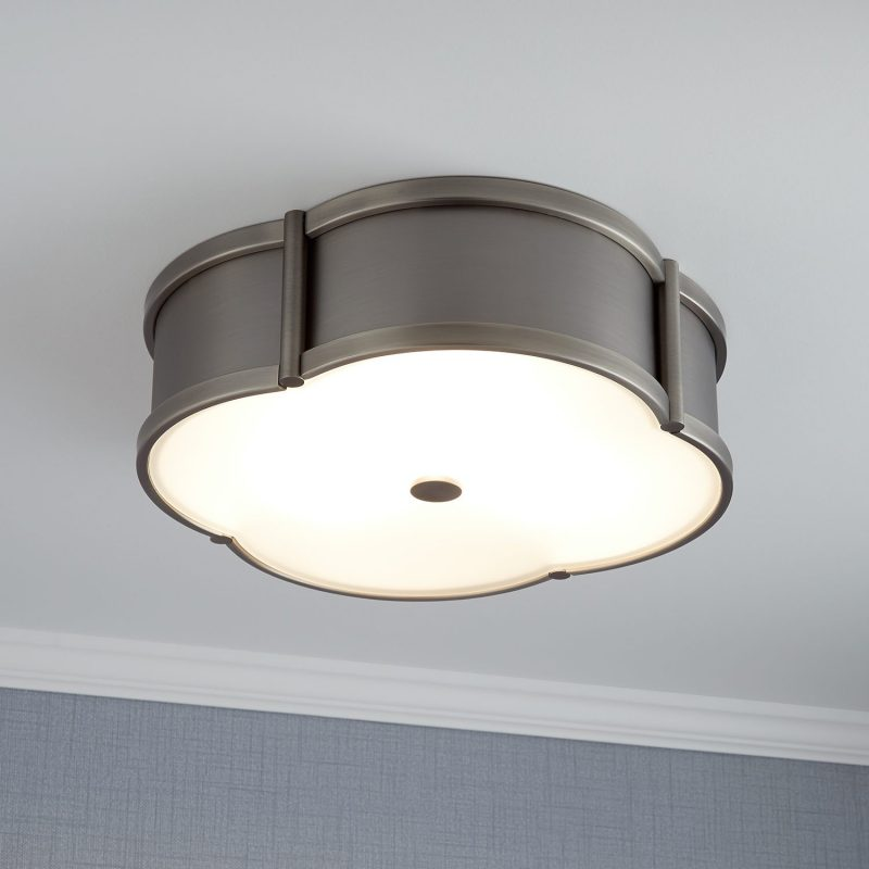 lighting ideas for living room without false ceiling