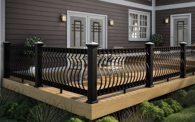 deck rail attachment ideas
