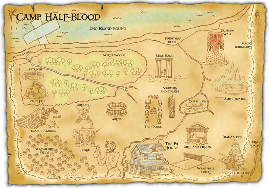 Image result for camp half blood