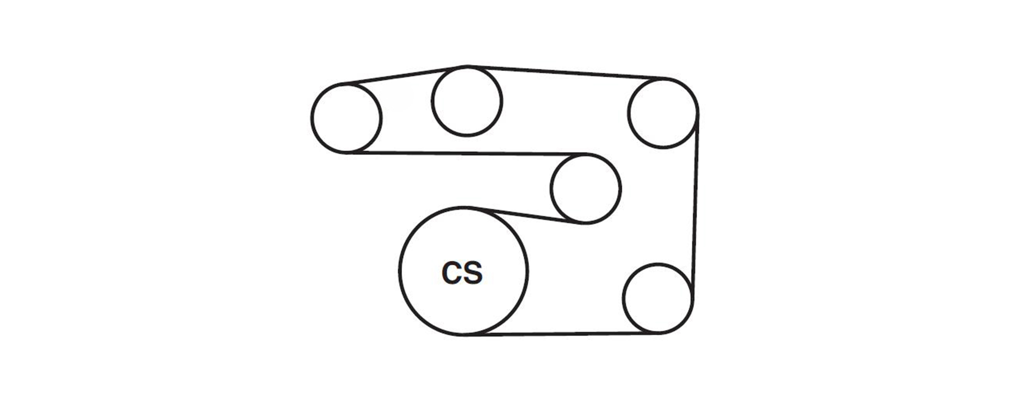 Honda Civic Hybrid Serpentine Belt Diagram