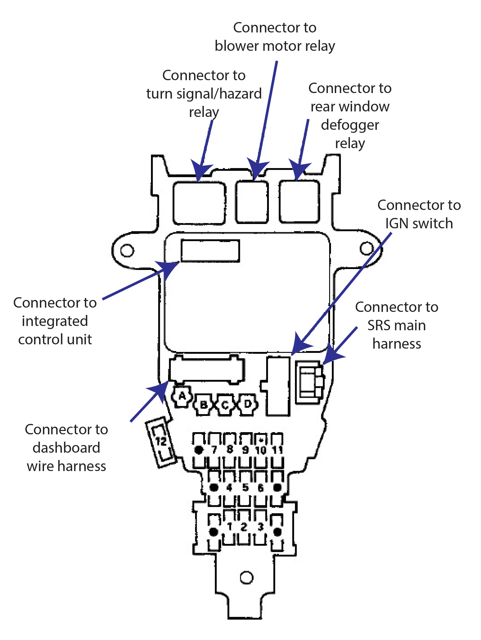99 Honda Accord Wiring Diagram
