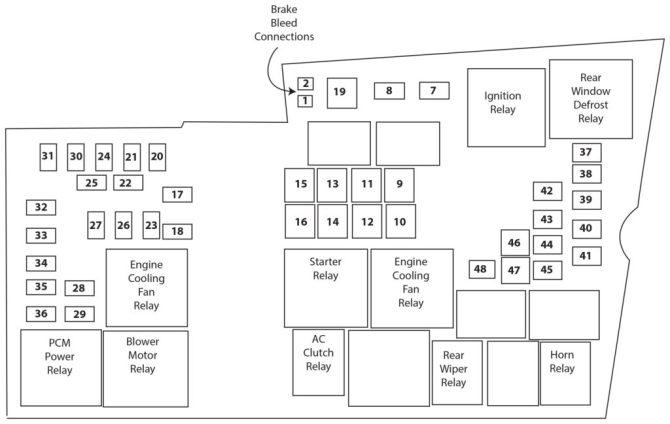 2012 ford focus fuse diagram — ricks free auto repair advice