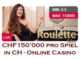 150'000 Franken Einsatz pro Spiel