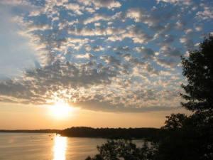Sunset at Castaway