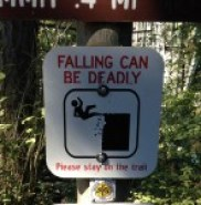 Falling Deception Pass, WA