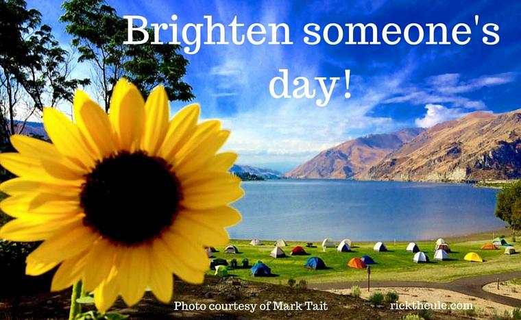 Brighten someone's day! (1)