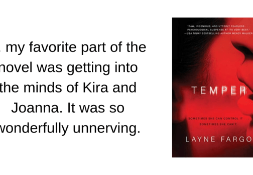 Recommended: Temper by Layne Fargo
