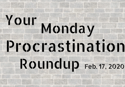Introducing your Monday procrastination roundup