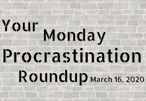 Monday procrastination roundup: Stranger than fiction