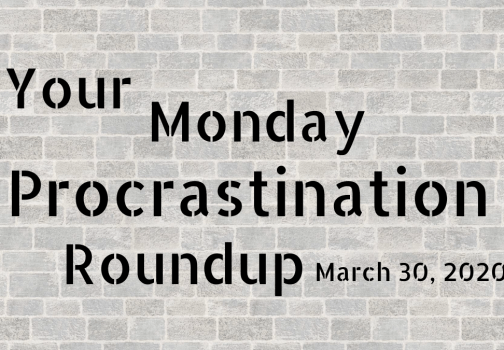 Monday procrastination roundup: Spring is in the air