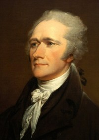 Alexander Hamilton 1757 - 1804 1st United States Secretary of the Treasury