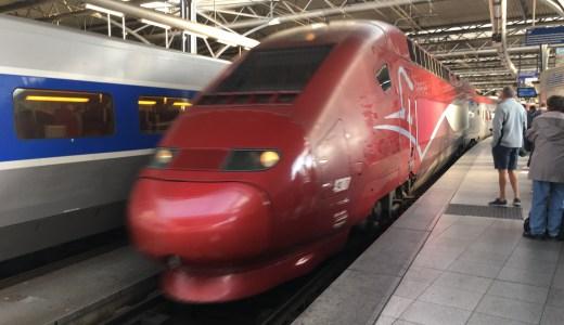 ヨーロッパ高速列車タリス(Thalys) 乗車レポート