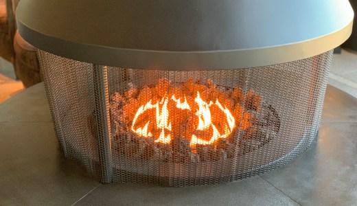 暖炉のある生活