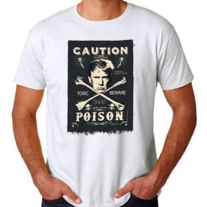 Poison, White T-Shirt