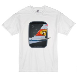 Airport Movie TGA Window White T-Shirt