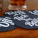 Crass Coaster Set for Blunt Clothes