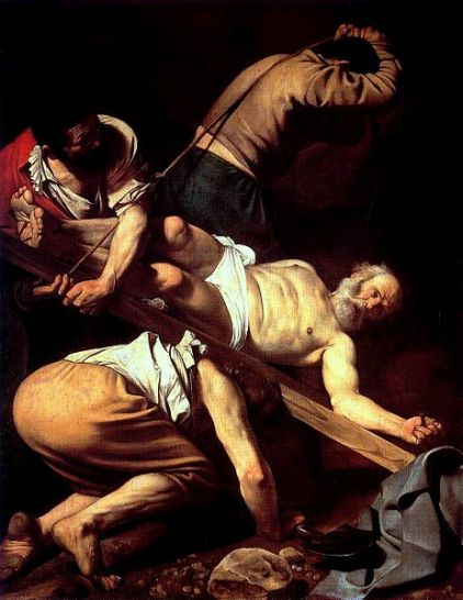Caravaggio in Rome, The Martyrdom of St. Peter