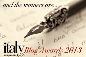italy magazine blogger awards