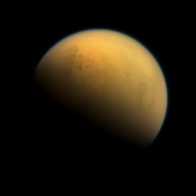 Titan is the only moon in the solar system that has its own atmosphere Credit: nasa.gov