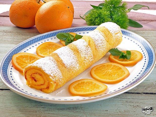 Brazo de naranja o Torta de laranja