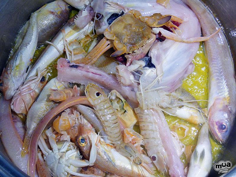 Fumet o Caldo de pescado