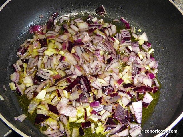 Tagliatelle con salsa Boscaiola