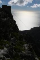 The cableway's cables
