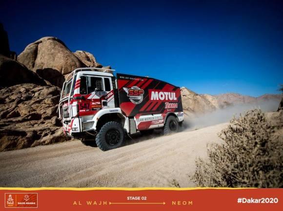 leg 2 Dakar 2020 Sylvain Besnard - MAN #547