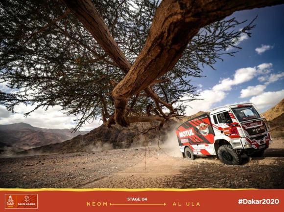 Sylvain Besnard - MAN #547 - Dakar 2020 LEG4
