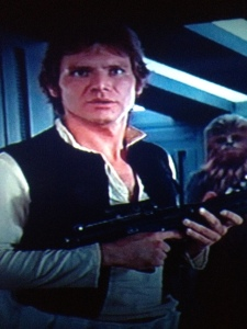 Harrison Ford as Han Solo in Star Wars (1977)