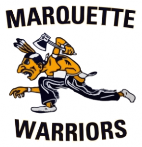 Racist Caricature Logo for the Marquette Warriors from the 1960's-70's