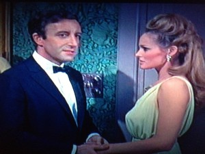 Peter Sellers famously fends off a James Bond two-timer