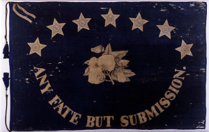 Saint Augustine Blues-- Confederate militia flag (1861)