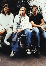 Kurt Cobain toy gun promo pic