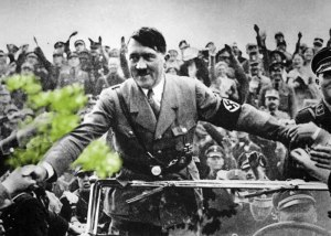 hitler and supporters