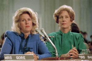 Tipper Gore, Susan Baker