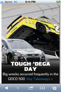 Top NASCAR photo: Talladega
