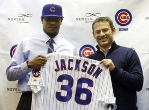 RHP Edwin Jackson & GM Jed Hoyer